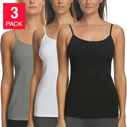 Cotton Stretch Camisole (Pack of 3)