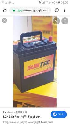 New batteries for car