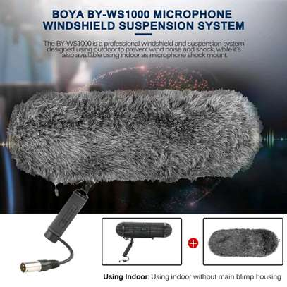 BOYA BY-WS1000 Microphone Blimp Windshield Suspension System image 2