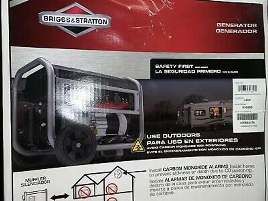 """""""The 3500 Watt PowerBoss® portable generator provides dependable power that you can take anywhere. The Briggs & Stratton 79cc Powerbuilt™ Series engine for long life, high performance. image 5"""