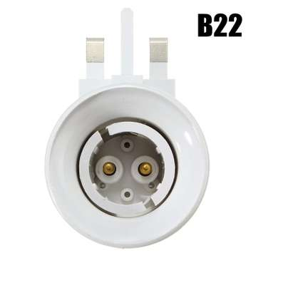 UK Plug E27 or B22 Lamp Socket Holder Adapter Converter 110-240V With ONOFF Switch image 3