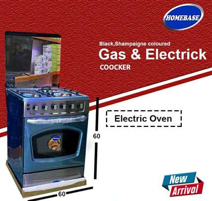 ELECTRIC AND GAS COOKER image 1