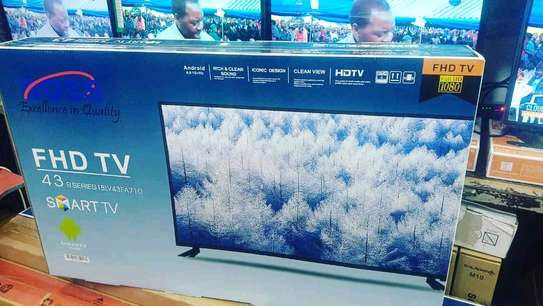 Boss FHD smart android TV 43 inch....750,000/= image 1