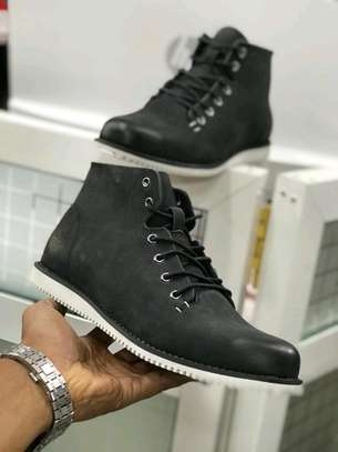 Timberland leather shoes.