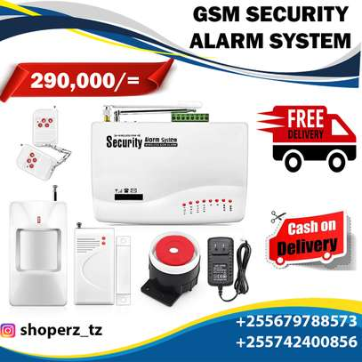 GSM SECURITY ALARM SYSTEM image 1