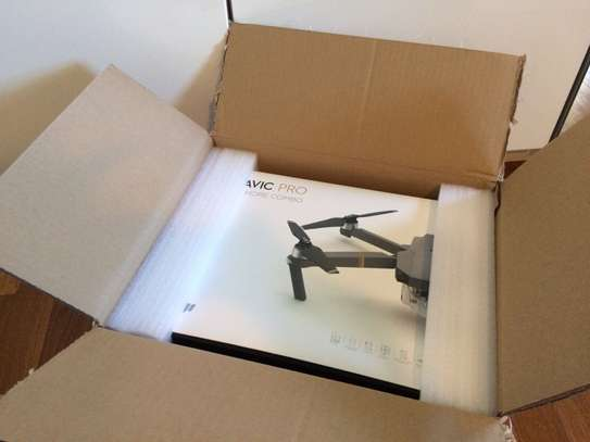 Brand New DJI Mavic Pro Fly More Combo Drone Quadcopter 4K Two Batteries image 2