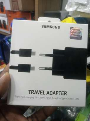 travel adapter Samsung  USB Type _C to  Type _C cable image 1