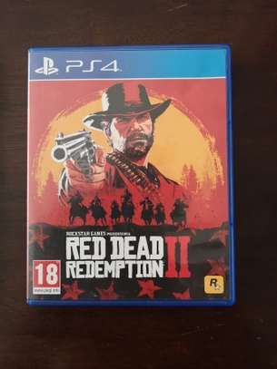 Play Station 4 Red Dead Redemption 2