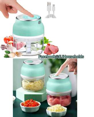 Rechargeable Mini Food Chopper/Cutter image 2