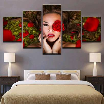 MODERN WALL CANVAS PAINTING image 8