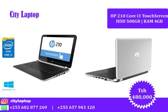 HP 210 core i3 Touchscreen Laptop image 1