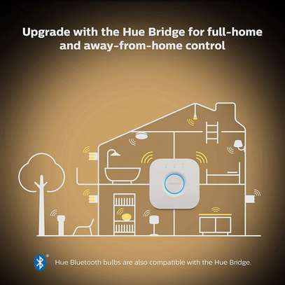 Philips Hue White Ambiance Smart E27/B22 LED | Bluetooth, Works with Alexa and Google Assistant image 7