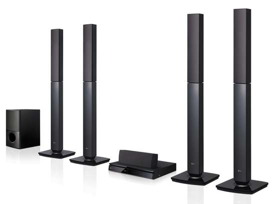 LG 5.1Ch. DVD Home Theater System – LHD655