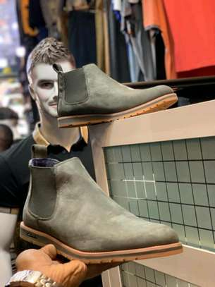 Clarks leather boots. image 1