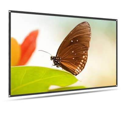 Foldable Projector Screen - 100 Inches