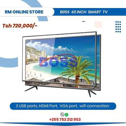 Double glass smart tv 43 inch image 1