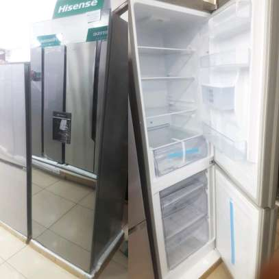 Hisense 320L Black Mirror Design Combi Fridge - H420BMI-WD.