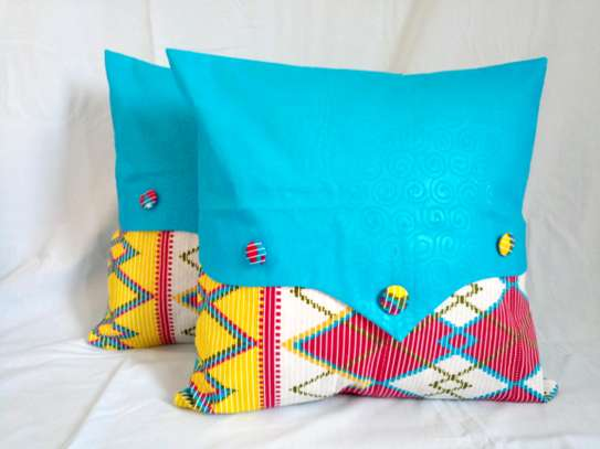 Foronya za Kitenge/African Print Pillow Covers
