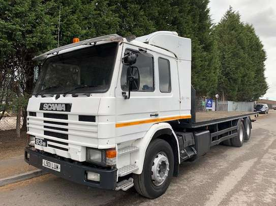 1994 Scania P93 280 6X2 FLATBED
