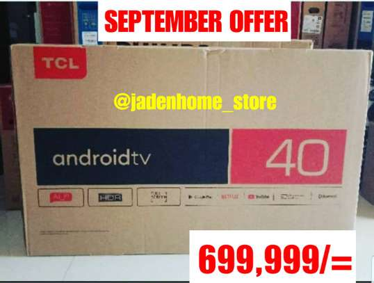 TCL Android Smart TV 40 Inches image 1