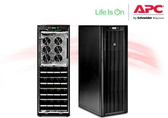 SUVTP40KH4B4S  |   APC Smart-UPS VT 40kVA 400V w/4 Batt. Mod., Start-Up 5X8, Internal Maint Bypass, Parallel Capability |  HIGH CAPACITY  HP UPS image 3