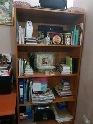 Cupboard and office table