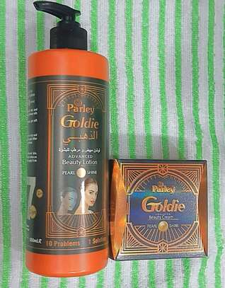 Goldie parley cream & lotion image 1