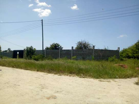 4 Acres industrial plot, all fenced in Mbweni image 2