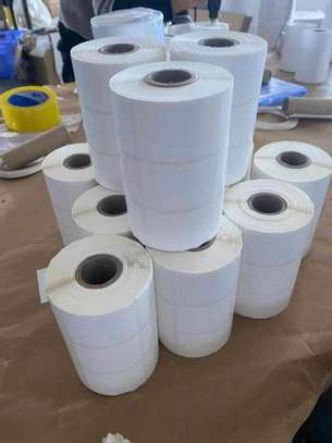 Barcode labels 3 Parts 34mm*50mm image 2