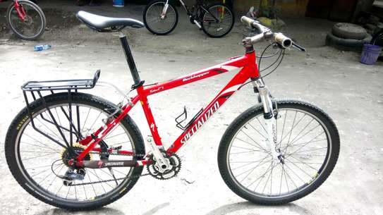 Mountain bike (Specialized Rockhopper)