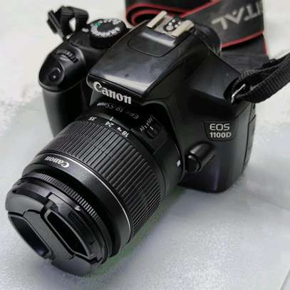 Canon EOS 1100D (Rebel T3) Digital SLR Camera with EF-S 18-55mm Lens image 2