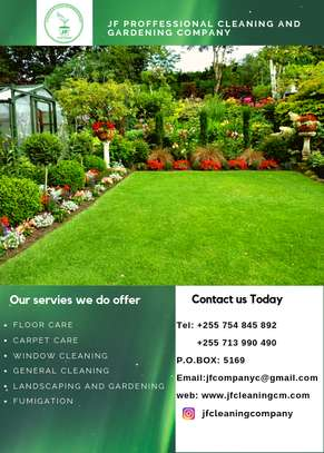 JF PROFESSIONAL CLEANING AND GARDENING COMPANY