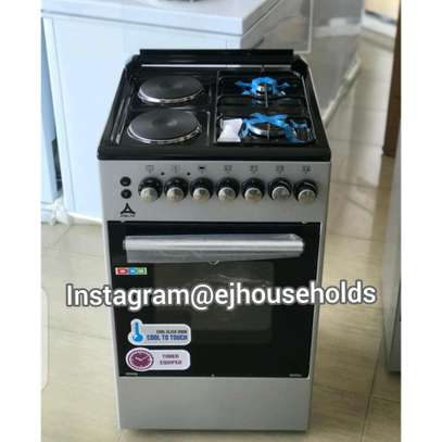 2G+2E Plate Cookers with Electric oven. image 1