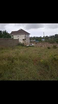 1600 SQM. Plot Fenced and with Title Deed at KIBADA KIGAMBONI image 1