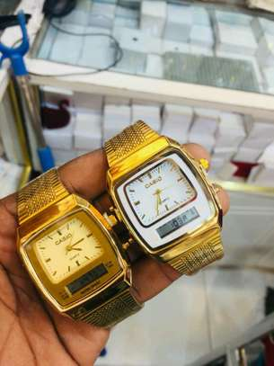 Casio double watches