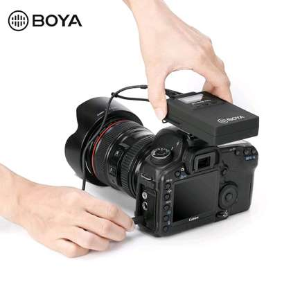BOYA BY-WHM8 Pro Lavalier and Handheld Microphone UHF Wireless Unidirectional Dynamic Mic image 5