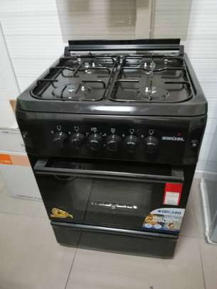 BRUHM COOKER 4 GAS BURNERS 60X60 WITH OVEN ELECTRIC