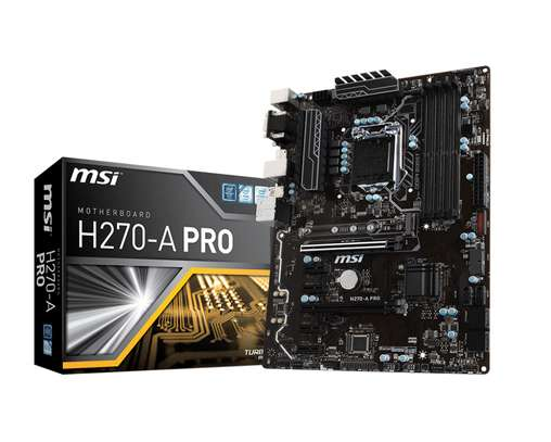 MSI H270-A PRO  MOTHERBOARD image 2