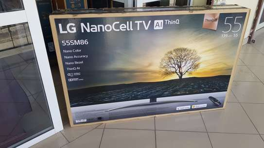 "LG 55"" SM8600 NanoCell SUPER UHD 4K HDR SMART AI ThinQ TV. image 2"