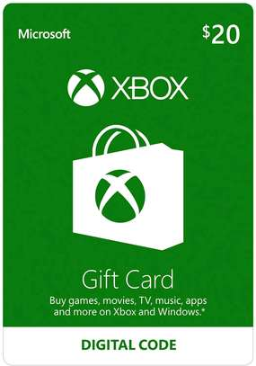 20$ Xbox Gift Card [Digital Code]