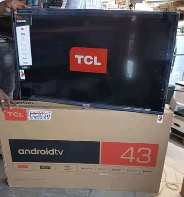 "43"" TCL Android Smart TV image 1"