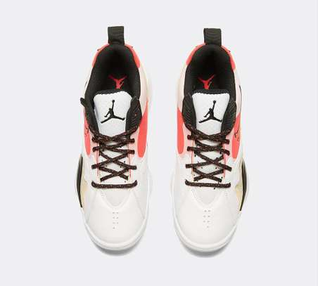 Jordan Women's Zoom 92 Trainer | White / Black / Siren Red / University Gold image 5