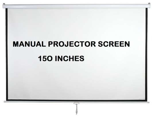 Manual Projector Screen - 150 Inches