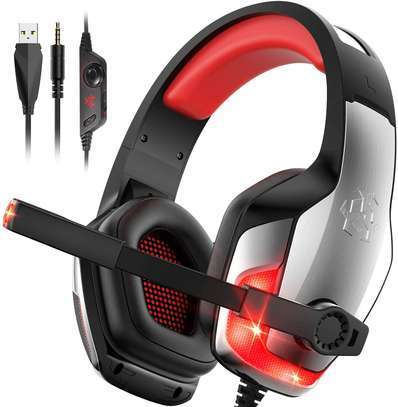 Hunterspider V4- USB Gaming Headset for PS4, Xbox One, PC image 1