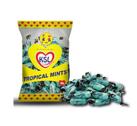 TROPICAL CANDIES MINT FLAVOURED