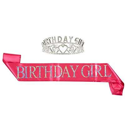 Birthday Sash for party