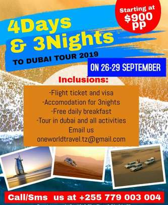4 Days AND 3 Nights To DubaiI Safari Tour Experience. image 3