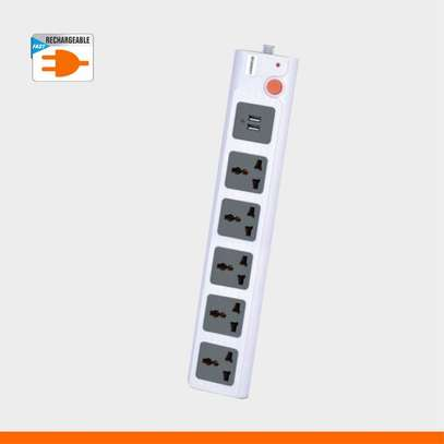Lontor 5 Ports Power Socket With 2 USB Charging Port image 3