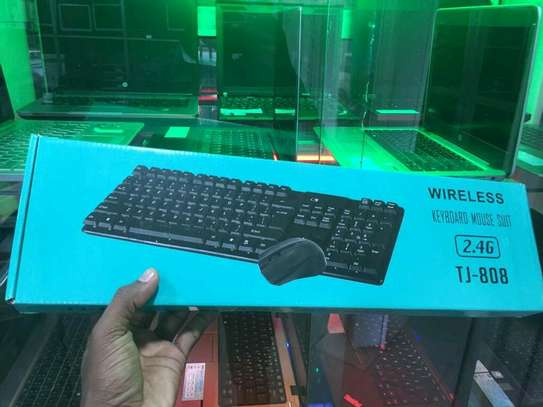 Wireless Keyboard and Mouse image 2