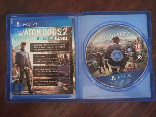 Watchdogs 2 PS4 Cd image 2
